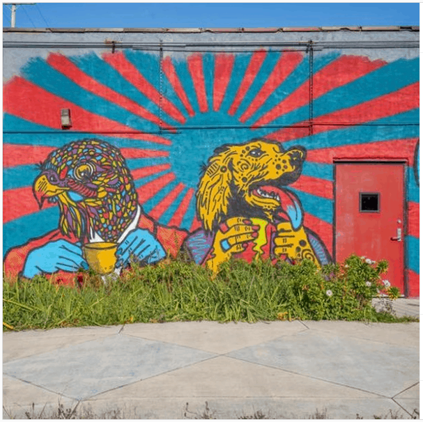 exploreflint murals Walk the Flint Mural Tour