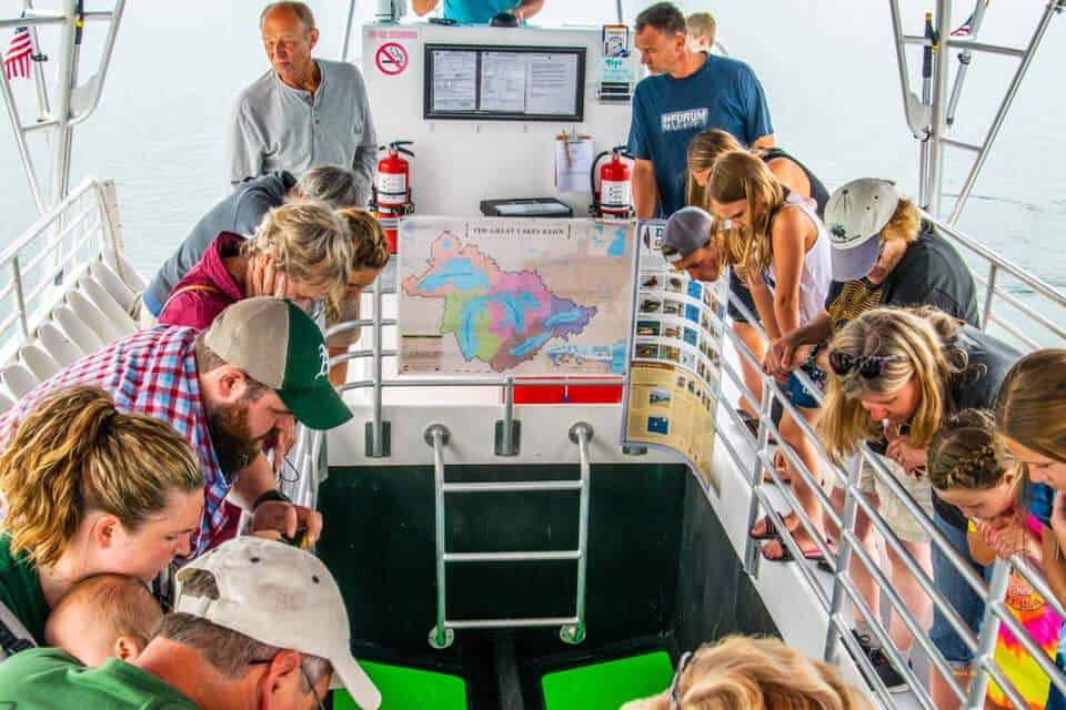 nautical north boat bottom Take a Shipwreck Tour & More With Nautical North Family Adventures