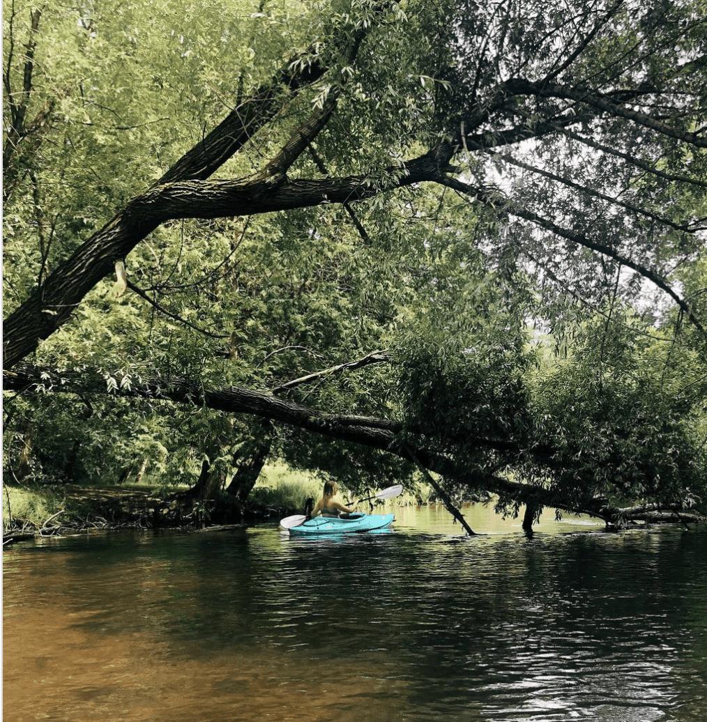 AuSableRiver Canoe or Kayak Down the Au Sable River