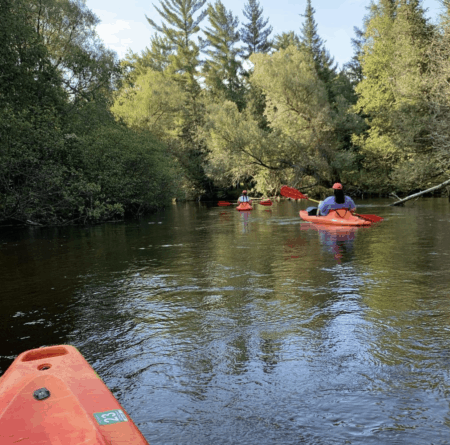 Canoe or Kayak Down the Au Sable River