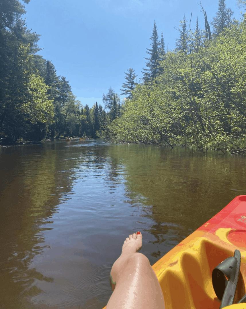 AuSableRiver jusss kaleigh.5 Canoe or Kayak Down the Au Sable River