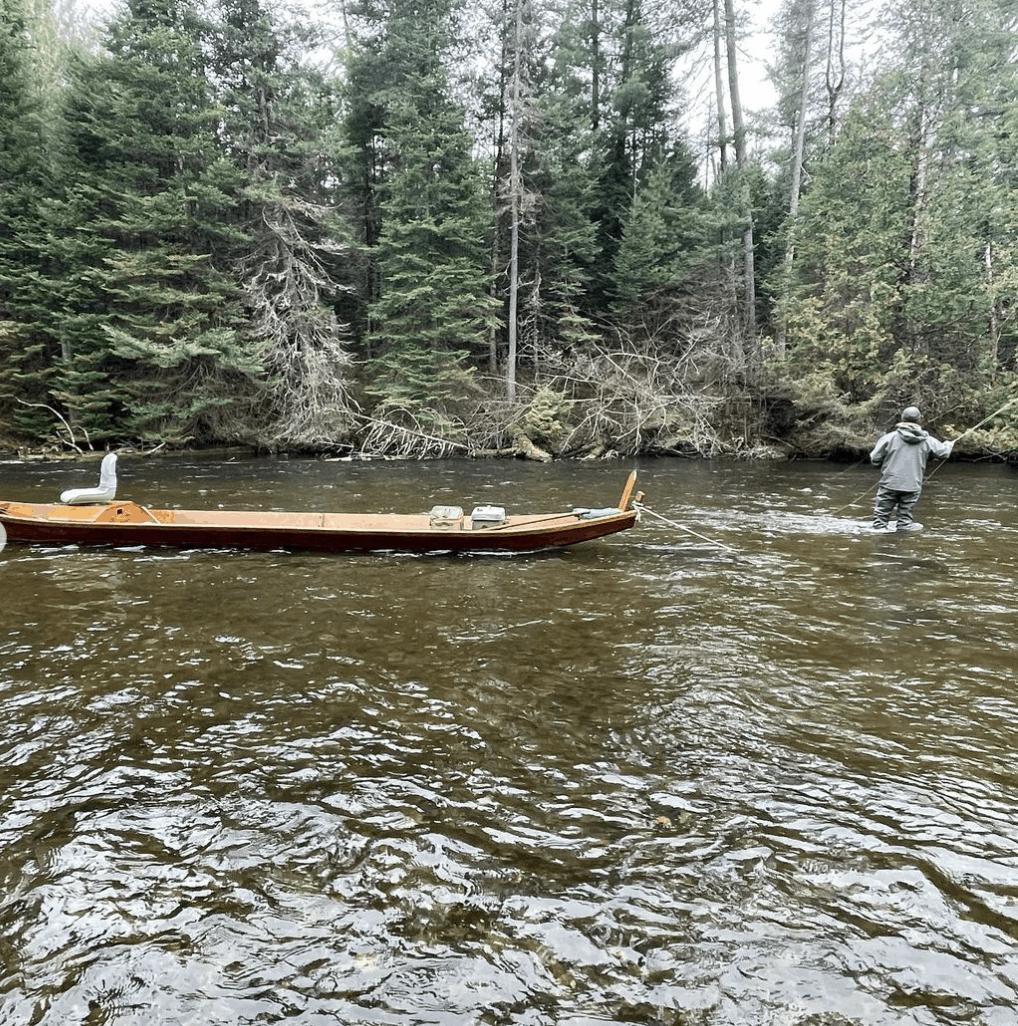 AuSableRiver mattklungle 1 Canoe or Kayak Down the Au Sable River