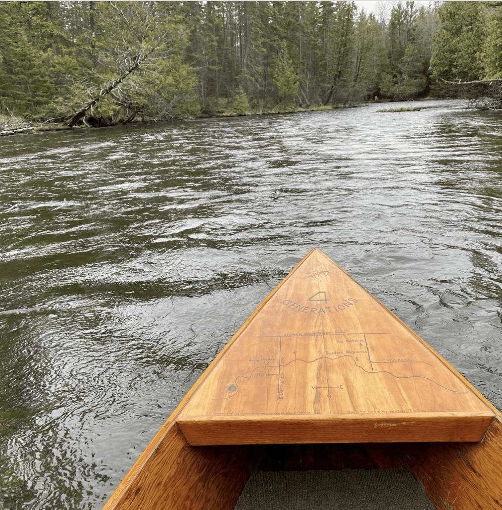 AuSableRiver mattklungle Canoe or Kayak Down the Au Sable River