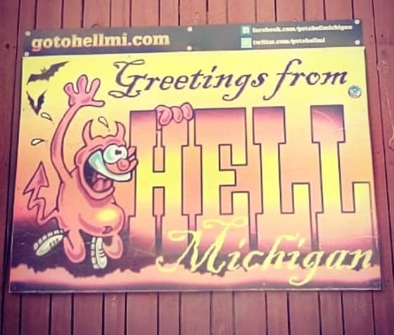 greetings from hell michigan Home New