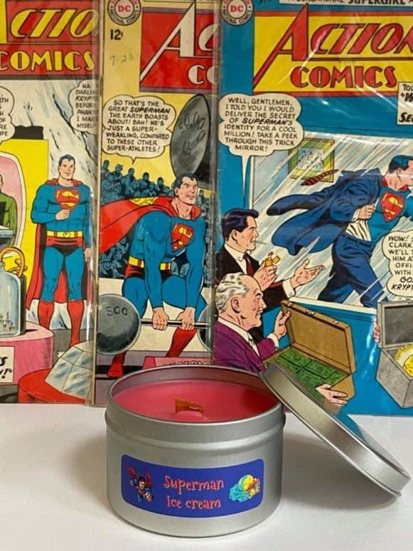 superman ice cream candle Superman Ice Cream: A Truly Michigan Treat