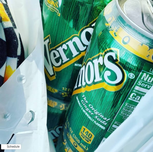 cans of vernors - michigans oldest pop