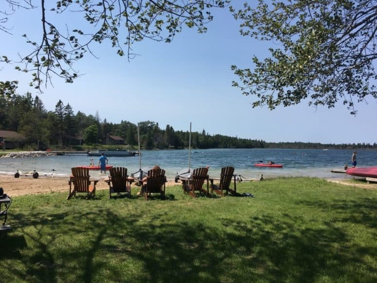 Cedar Bay Les Cheneaux Islands Just 4 Days to Explore the Upper Peninsula this Summer? Here's What We Did. #MittenTrip