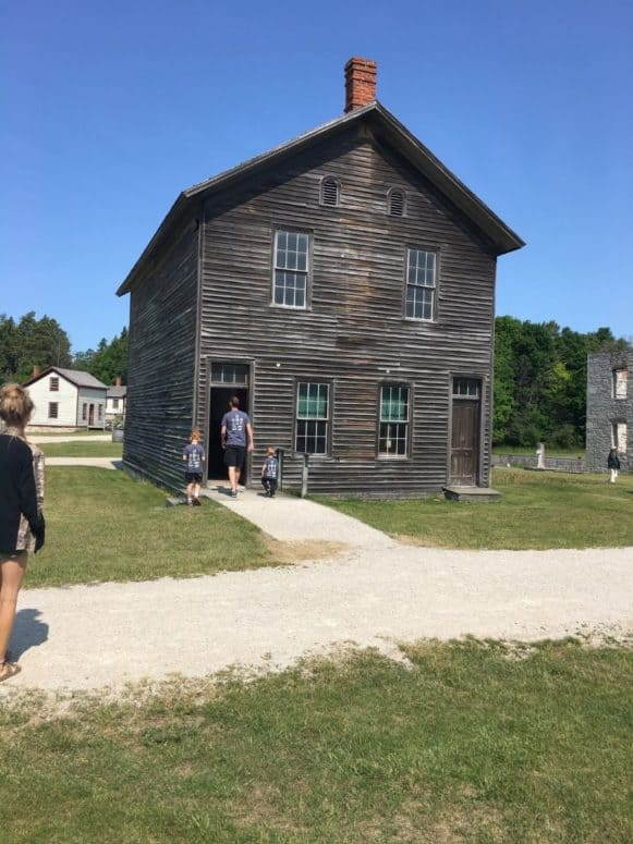 Fayette Historic State Park Just 4 Days to Explore the Upper Peninsula this Summer? Here's What We Did. #MittenTrip