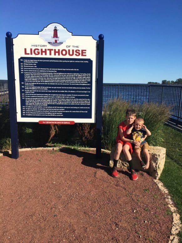 Lighthouse Ann Arbor Park Menominee Just 4 Days to Explore the Upper Peninsula this Summer? Here's What We Did. #MittenTrip