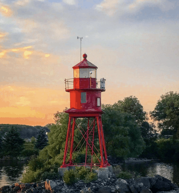 Alpena Lighthouse 17 Ways to Enjoy Fall in East Michigan This Year [updated 2021]