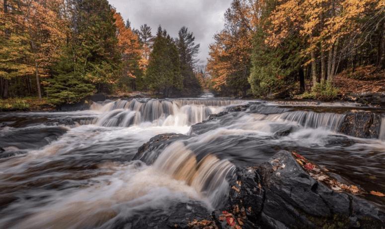 Bond Falls 18 Best Waterfalls in Michigan to Explore This Fall