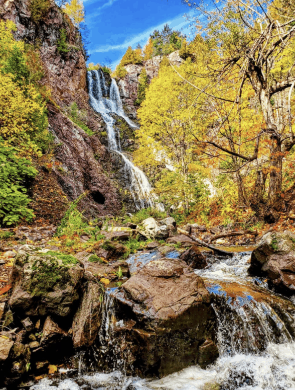 Douglas Houghton Falls 18 Best Waterfalls in Michigan to Explore This Fall