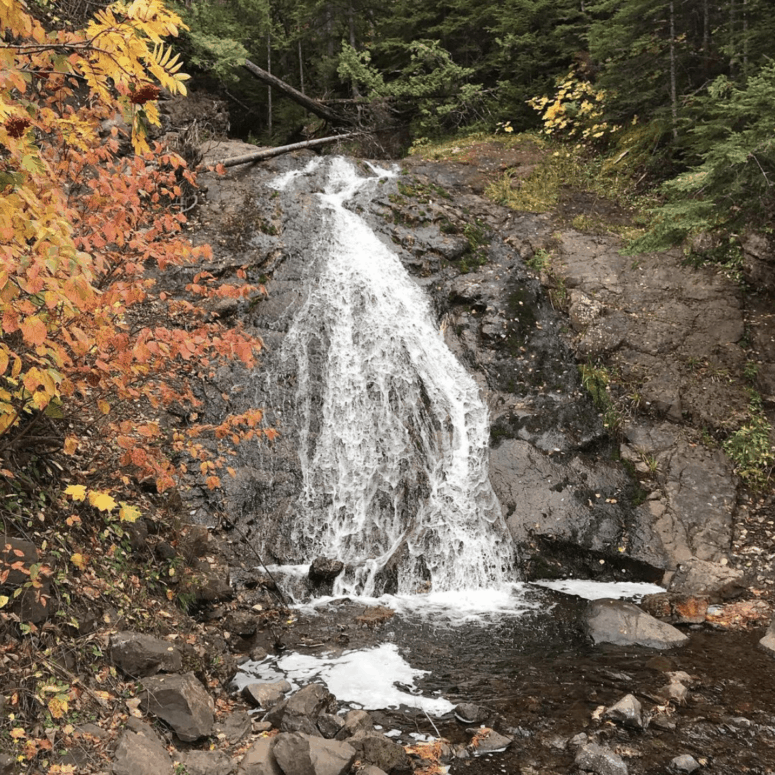 Jacobs Falls 18 Best Waterfalls in Michigan to Explore This Fall