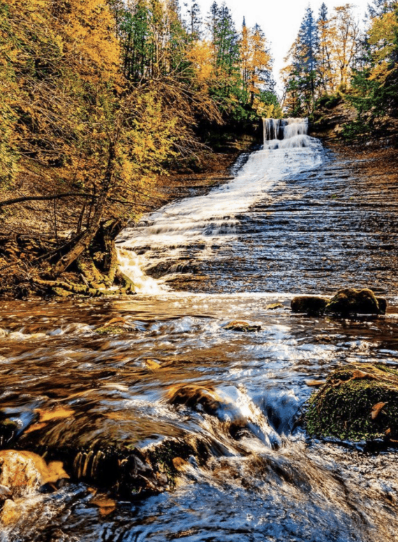 Laughing Whitefish Falls 18 Best Waterfalls in Michigan to Explore This Fall