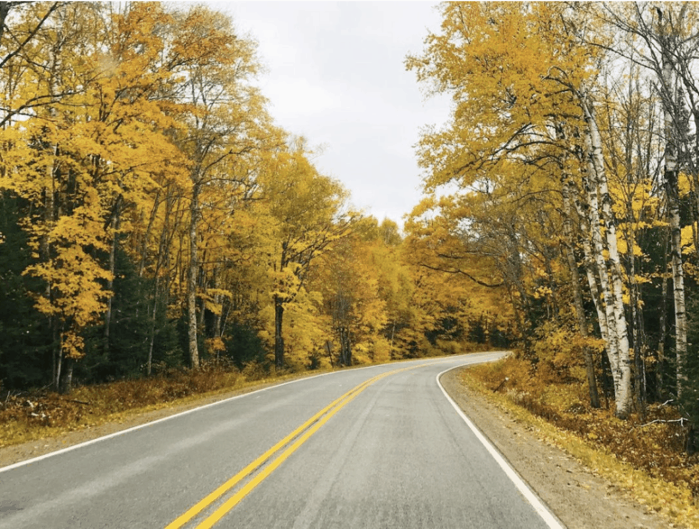 M 22 7 Awesome Fall Color Drives in Northern Michigan
