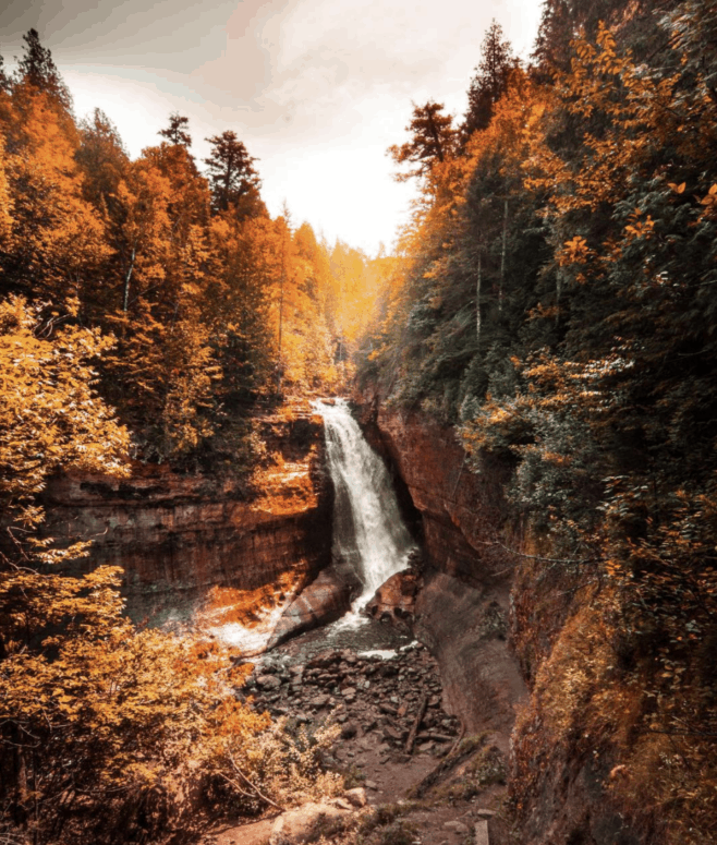 Miners Falls 1 18 Best Waterfalls in Michigan to Explore This Fall