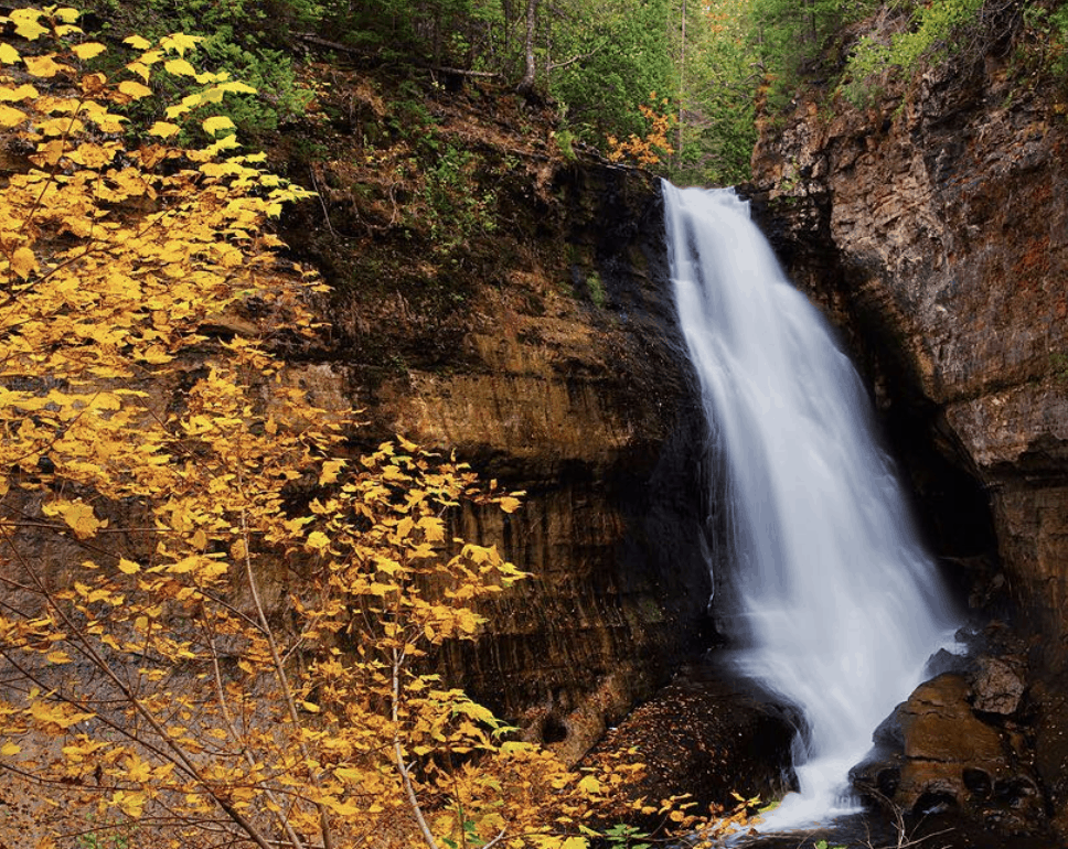 Miners Falls 18 Best Waterfalls in Michigan to Explore This Fall