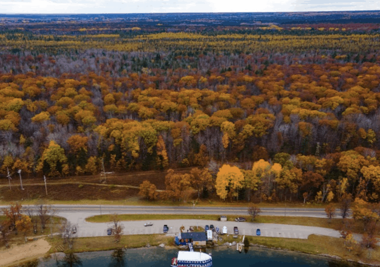 River Road Scenic Byway 7 Awesome Fall Color Drives in Northern Michigan