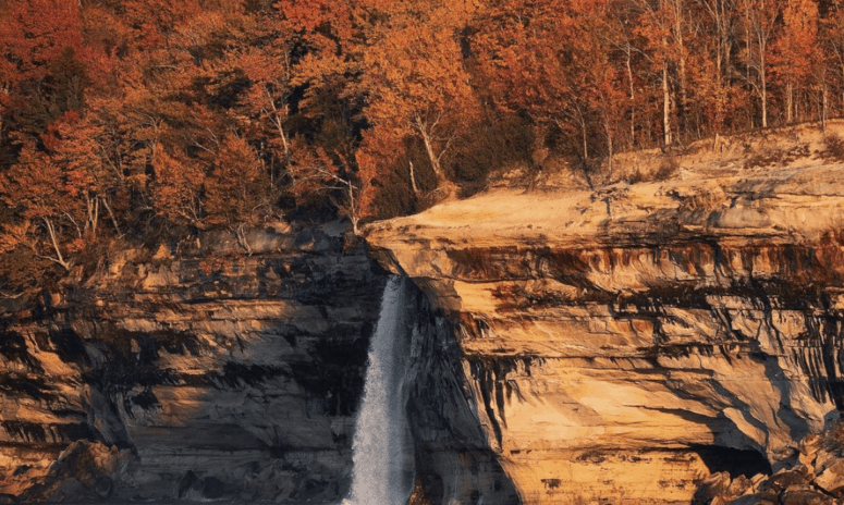 Spray Falls 18 Best Waterfalls in Michigan to Explore This Fall