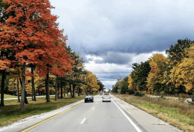 US 31 M 119 Best Scenic Fall Drives in Michigan For Stunning Color and Views