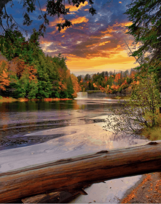 Upper Lower Tahquamenon Falls 18 Best Waterfalls in Michigan to Explore This Fall