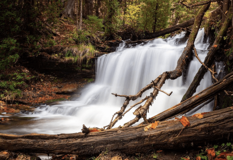 Wagner Falls 18 Best Waterfalls in Michigan to Explore This Fall