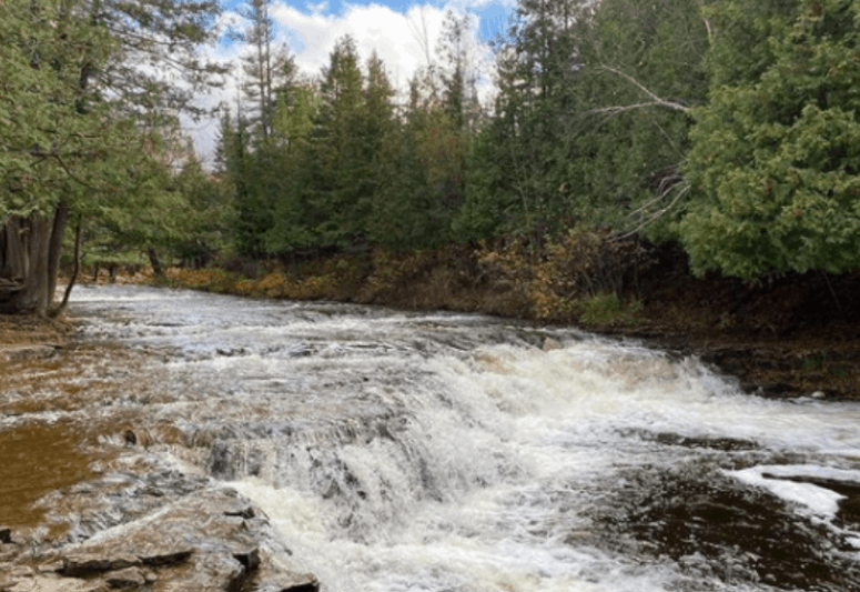 Ocqueoc Falls & Bicentennial Trail