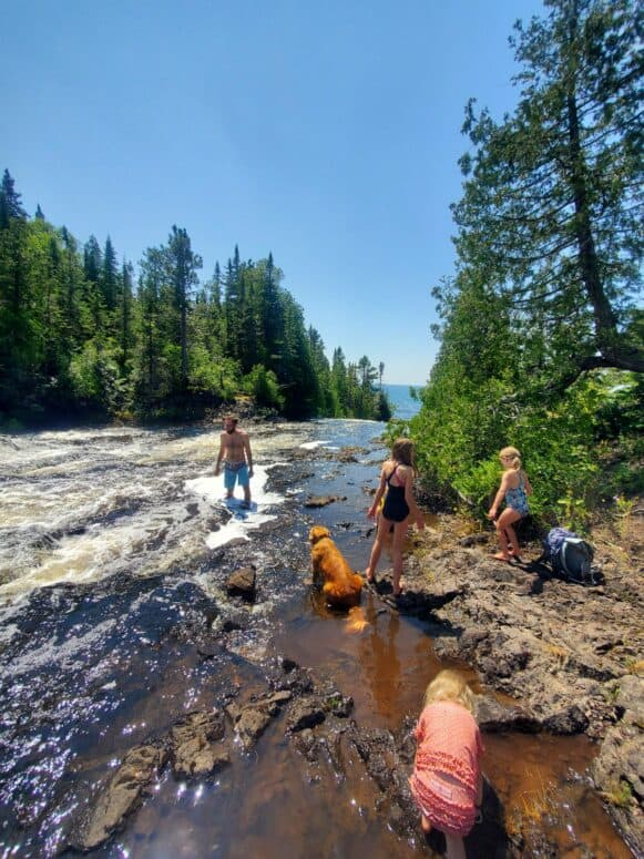 20210725 135420 12 Days + 1,946 Miles + 4 Campgrounds + 6 People + 1 Dog = Our 2021 Upper Peninsula Summer Adventure