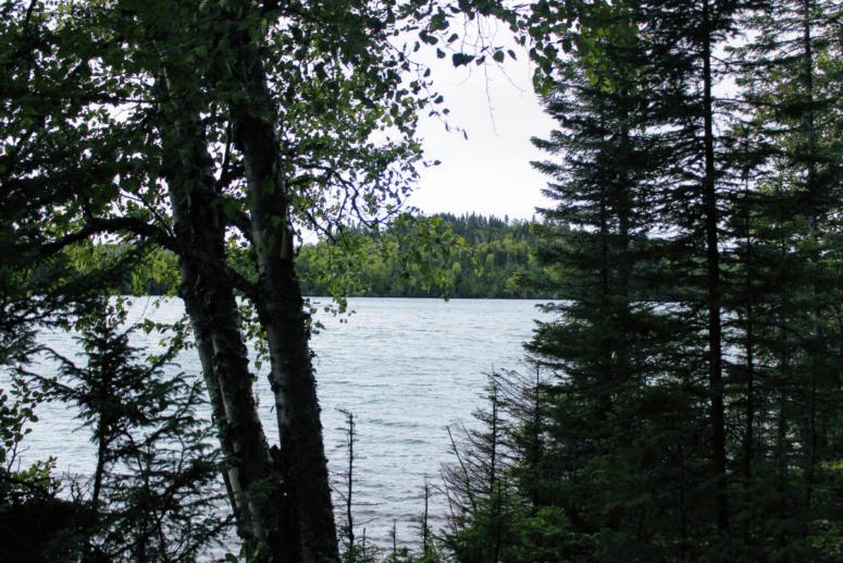Lake Superior from the Feldtmann Trail on Isle Royale National Park