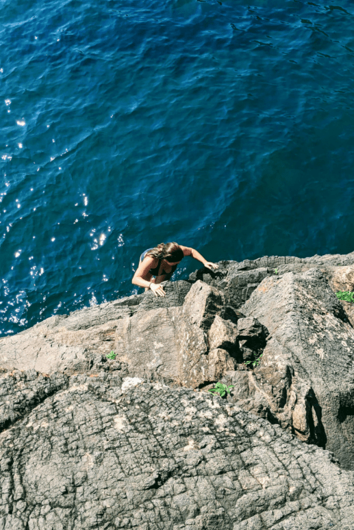 6 I Cliff Jumped at Marquette's Famed Black Rocks. Here's How it Went