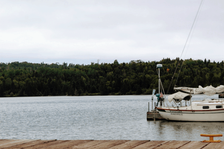 More boats on Isle Royale National park