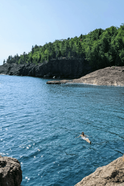 8 I Cliff Jumped at Marquette's Famed Black Rocks. Here's How it Went