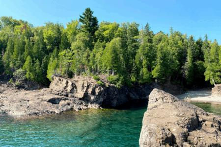 Cliff Jumping at Black Rocks