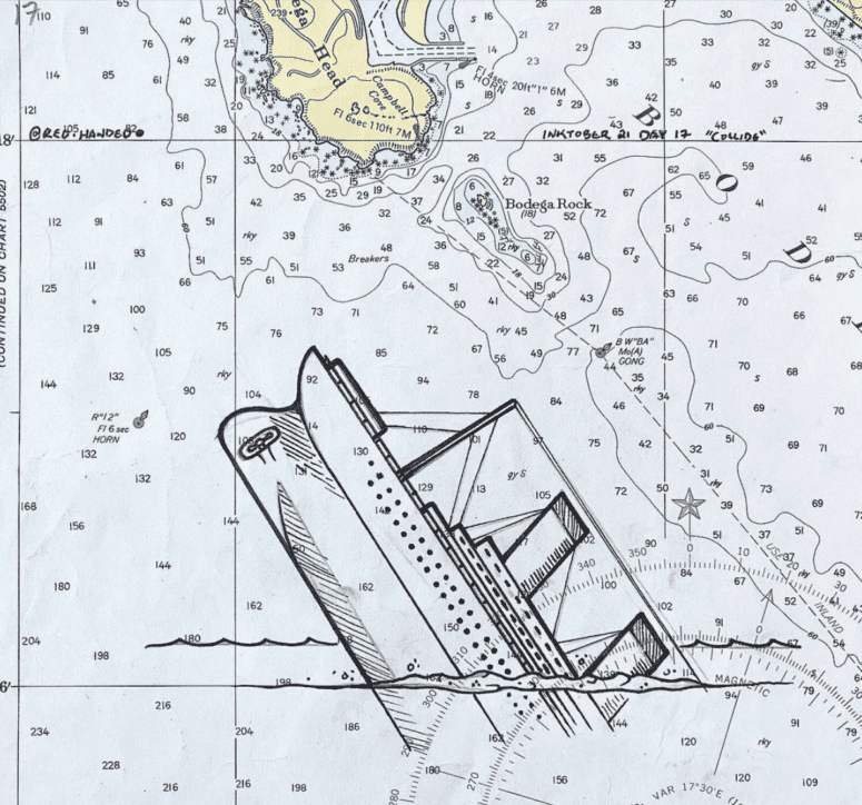 Navigational Chart The Complete Guide to the Wreck Of The Edmund Fitzgerald