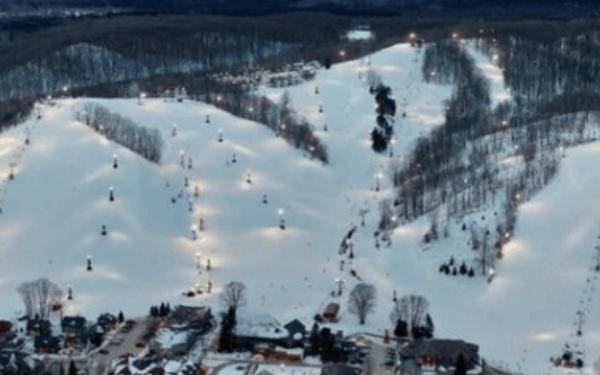 Crystal Mountain Michigan golf, spa, ski resort