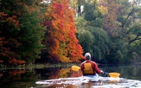 Canoeing Thorn Lake Photo by K. Price Photos