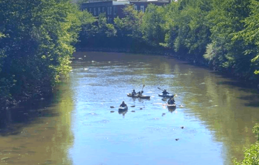 Kayak the Flint River