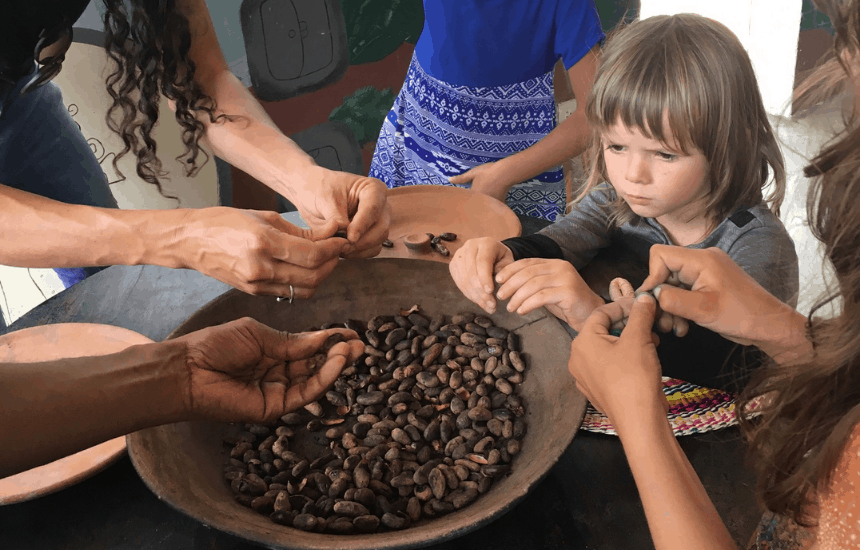 Mindo Chocolate Makers experience header