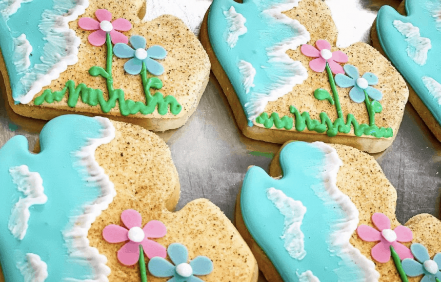 let art melt in your mouth this summer in Michigan when you buy baked goods at Ruthann's Gourmet Bakery in Bellaire