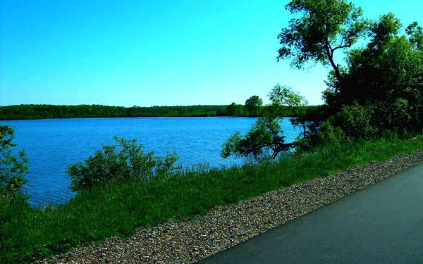 South Half of Lime Lake along the Falling Waters Trail | Photo Courtesy of Experience Jackson