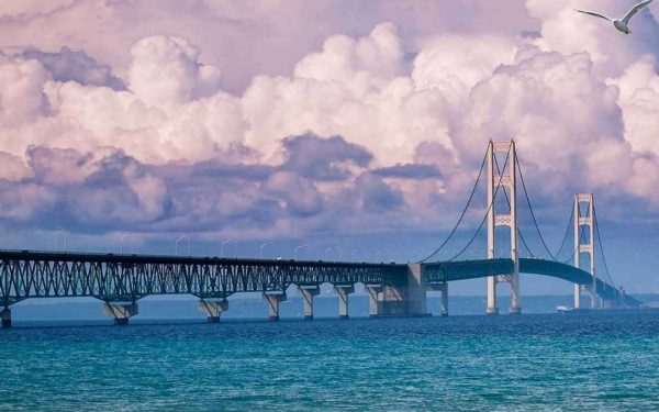 Instagrammble Spots - Mackinac Bridge