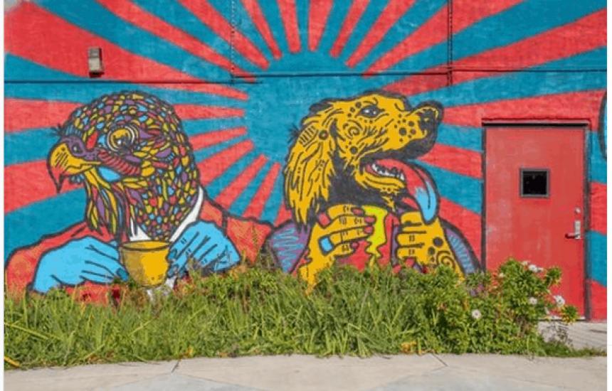exploreflint - murals