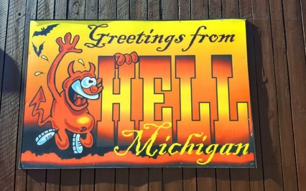Hell, Michigan Fall - The Awesome Mitten