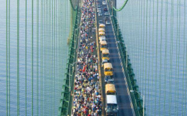 The Awesome Mitten - Mackinac Bridge Walk