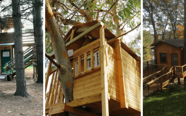 treehouse rentals in Michigan